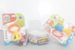 Kit chocalhos bebê instrumentos