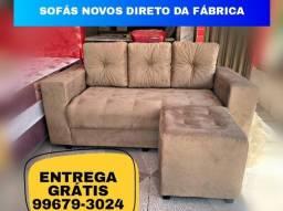 Título do anúncio: Sofá Sofá // Entrega gratuita // Puff grátis
