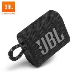 JBL Go 3 portátil com bluetooth black