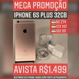 iPhone 6s Plus 32gb, aceitamos seu iPhone usado como parte do pagamento.