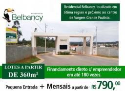 Loteamento fechado c/ Lotes a partir de 360m² - Vargem Grande Paulista