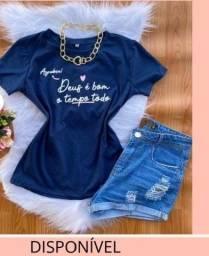 Título do anúncio: Blusinhas T-shirt