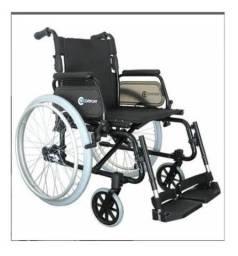 Cadeira De Rodas Alumínio Comfort Sl 7100