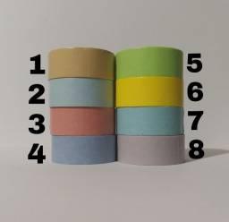Título do anúncio: Washi Tapes Coloridas - Avulsas