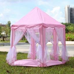 Título do anúncio: Tenda Cabana Castelo Infantil Princesas 2020 Linda<br><br>