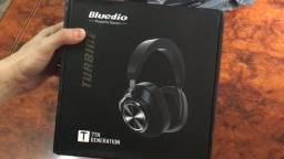 Fone Bluetooth Over Ear Bluedio T7, aprova de ruídos