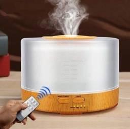 Difusor De Oleos Essenciais Eletrico 500ml Controle Remoto