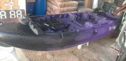 Caiaque Hunter 285 mod.2020 troco por caiaque com pedal