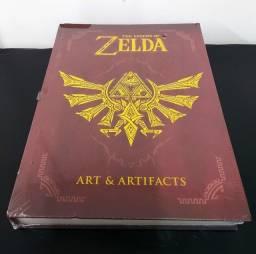Livro The Legend Of Zelda: Art & Artifacts Capa Dura