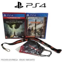 Jogo Barato Ps4 - Dragon Age: Inquisition + The Division 2