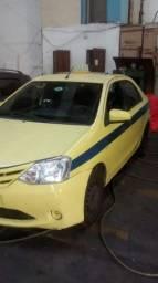 Táxi Toyota Etios XS 1.5 2014