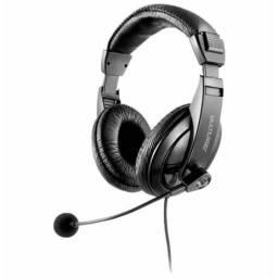 Fone C/ Microfone Profissional Giant Usb Multilaser Ph245