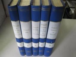 Coleção 5 volumes enciclopédia de Psicologia contemporânea. Capa dura 1977