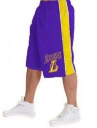 Short De Basquete Lakers NBA