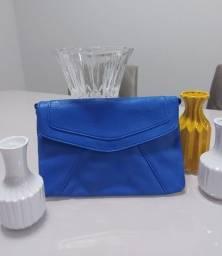 Bolsa azul/ vermelha novas