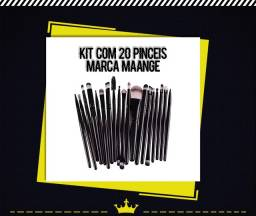 Kit Com 20 Pincéis Maange