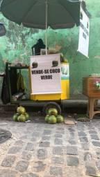 CARROÇA DE ÁGUA DE CÔCO
