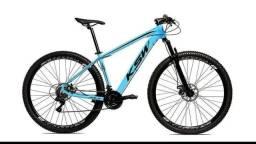 Bicicleta aro 29 NOVA 27 marchas freio hidráulico