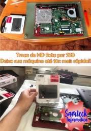 Troca de HD Sata por SSD
