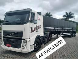 Volvo Fh 440 8x2 2011 4 eixo carreta guerra 2016 ls 13.5 m graneleiro
