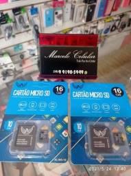 Cartão de memória 16 GB (novo lacrado)