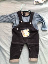 Lote de roupas de bebê Menino..