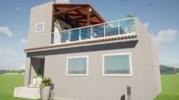 Casa em construção  em condomínio em Vargem grande