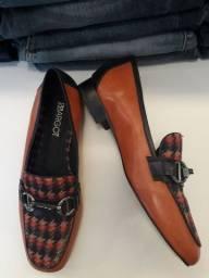 Vende-se sapato couro novo 37