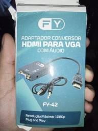 Adaptador/conversor de HDMI para VGA