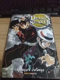 Título do anúncio: Mangá Demon Slayer vol2