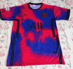 Título do anúncio: PROMOÇÃO camiseta de time Paris Saint German