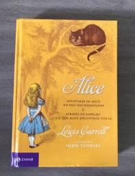 Livro Alice no País das Maravilhas - Lewis Carroll