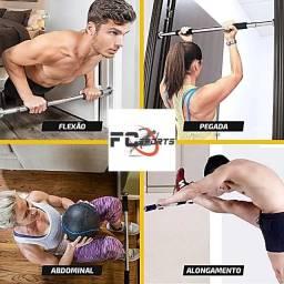 Barra Porta Fixa Exercicio Flexão Crossfit Treino Musculação FC Sports