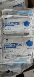 Título do anúncio: Máscara medical mask com Anvisa para hospital 0,40 centavos