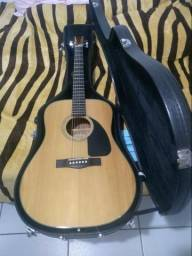 Violão Fender CD-60 NAT Acústico + Hard Case Fender