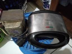 Transformador de energia 220/110 + sanduicheira 110