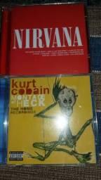 Nirvana e Kurt Cobain CDs