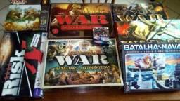 Jogos de Tabuleiro - Boardgames - War - Detetive - Jogo