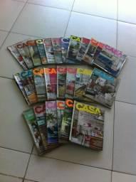 Casa Claudia, coleção com 24 exemplares