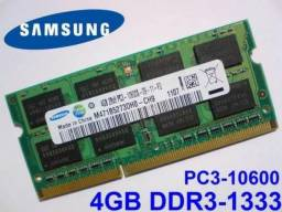 Memória Notebook 4GB Ddr3 p/ Notebook
