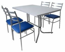 Mesas redondas e cadeiras p/restaurantes,bar,lanchonete e sorveteria - Direto da Fábrica