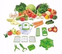 Multi Salada Chef 13 Peças Picador De Legumes Nicer