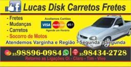 Lucas Disk Carretos Fretes, Socorro de Motos e Via