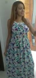 Vestido lindo floral veste M e G (Moda Jake)