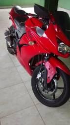 Troco moto Kawasaki ninja 250cc em carro ou moto - 2009