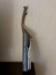 Ponteira de descarga da xtz 125