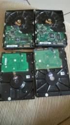 4 hds sendo dois de 500GB um 160GB é outro de 80 GB