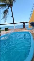 Casa no Pacheco com 7 quartos pé na areia frente mar