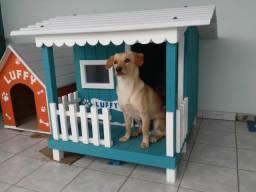 Casinha de cachorro com varanda N 04 a partir de 289,00