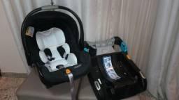 Carrinho e Bebê Conforto Key Fit Chicco Com Base